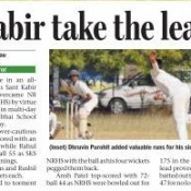 ST KABIR DEFEATS NR HIGH SCHOOL - UNDER 19 CRICKET