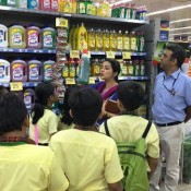 Who said shopping is boring? ..St. Kabir DIO students visited to Reliance Mall
