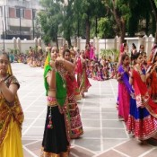 NAVRATRI CELEBRATION ON GARBA BEATS AT ST.KABIR, NAVRANGPURA