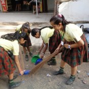 St. KABIR SCHOOL, NARANPURA JOINS MOMENTUM WITH CLEANATHON