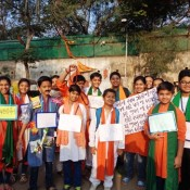 """A Street Play by Kabirians on """"Swachhagraha Bapu"""" (DRIVE IN BRANCH)"""