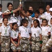 Naranpura Bagged three trophies on the concluding day of the Annual sports meet