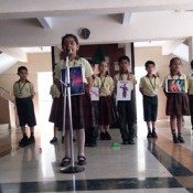 Inter- Class English Poem Recitation competition