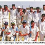 ST KABIR CROWNED CHAMPION IN UNDER - 16 INTER SCHOOL CRICKET TOURNAMENT