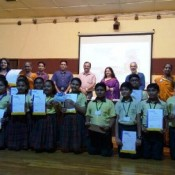 St. Kabir school shines out at 'Swachhagrah' Felicitation Ceremony at CEE