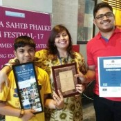 "ST. KABIR SCHOOL AHMEDABAD WINS ""BEST FILM – JURY"" AWARD AT  THE 7th DADA SAHEB PHALKE FILM FESTIVAL 2017, DELHI"
