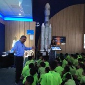 Budding space enthusiasts visit ISRO!