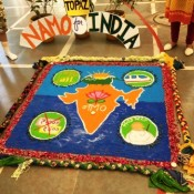 Spreading the Colors of Joy through Rangoli