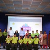 ST. KABIR SCHOOL, NARANPURA BAGS THE BEST SCHOOL AWARD AT THE CITY LEVEL FOR THE BAALJANAGRAHA PROJECT