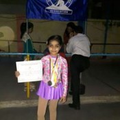 Dhruvisha ... Skating Champ