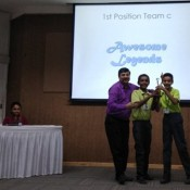 BRAINY KABIRIANS BRING HOME THE QUIZTROPHY