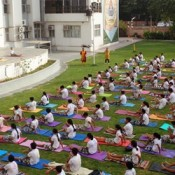 A Holistic Celebration of 'International Yoga Day' at St. Kabir School  (DRIVE IN NEW)