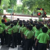 TRAFFIC SMART STUDENTS OF ST KABIR (DIO )