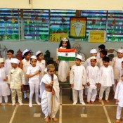 GANDHI JAYANTI CELEBRATED AT ST. KABIR SCHOOL WITH THE SPIRIT OF PATRIOTISM….  (DRIVE IN NEW)