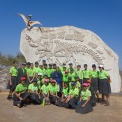 A MEMORABLE VISIT TO DINOSAUR FOSSIL PARK….  (DRIVE IN NEW)