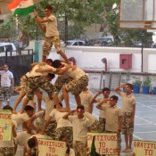 Inter-class Drill Competition at St. Kabir School, Naranpura
