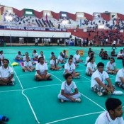 FIFTH INTERNATIONAL YOGA DAY CELEBRATION