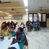 WORKSHOP ON COUNSELLING FOR TEACHERS AT ST. KABIR SCHOOL