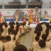 KRISHNA JANMASHTAMI CELEBRATION AT ST. KABIR SCHOOL, NARANPURA