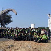 LEARNING FOSSILS BEYOND TEXTUAL WORLD  Kabirians' Educational Tour to Balasinor Fossil Park