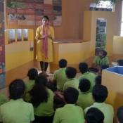 TRUE EDUCATION IS WHEN STUDENT CONNECT TO THE REAL WORLD -Field trip of Std 5(St.kabir DIO)