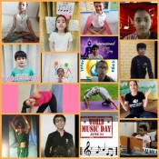 Kabirians Celebrate 7th International Yoga Day and World Music Day Virtually