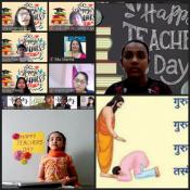 Kabirians Expressing Gratitude towards their Teachers on Teacher's Day