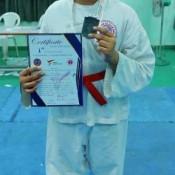 Achiever in Taekwondo (A Modern Korean Martial Art) from St. Kabir School (NAV)